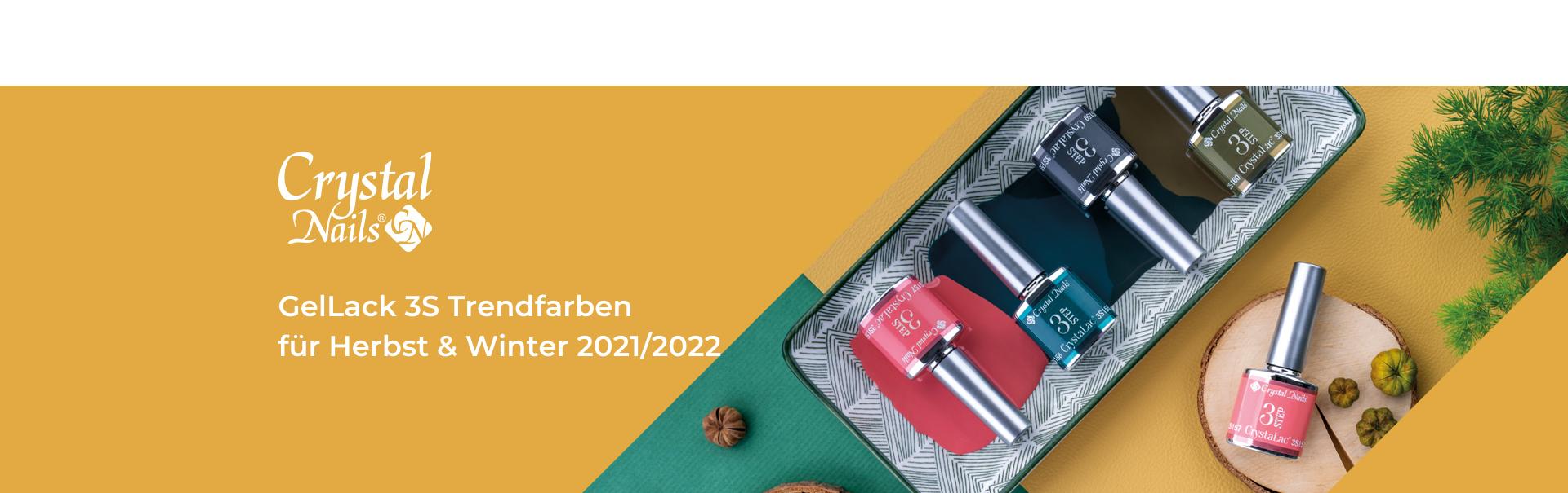GelLack 3S Trendfarben für Herbst & Winter 2021/2022
